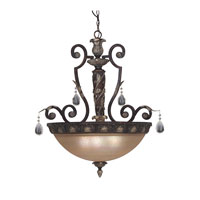 Designers Fountain Delphi 4 Light Pendant in Sierra 9214-SE