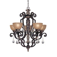 Designers Fountain Delphi 5 Light Chandelier in Sierra 9215-SE