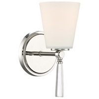 Designers Fountain 92201-PN Abree 1 Light 5 inch Polished Nickel Wall Sconce Wall Light