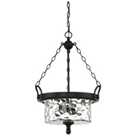 Designers Fountain 92332-NI Amilla 3 Light 18 inch Natural Iron Inverted Pendant Ceiling Light