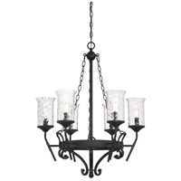 Amilla 6 Light 28 inch Natural Iron Chandelier Ceiling Light