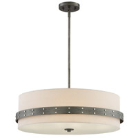 Designers Fountain 92433-WI Garrett 4 Light 24 inch Weathered Iron Pendant Ceiling Light