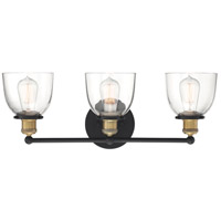Designers Fountain 92603-VB Bryson 3 Light 24 inch Vintage Bronze Vanity Light Wall Light