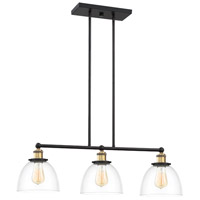 Designers Fountain 92638-VB Bryson 3 Light 32 inch Vintage Bronze Linear Chandelier Ceiling Light