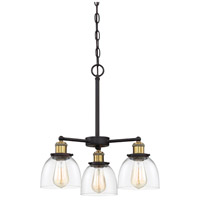 Designers Fountain 92683-VB Bryson 3 Light 19 inch Vintage Bronze Chandelier Ceiling Light