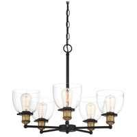 Designers Fountain 92685-VB Bryson 5 Light 24 inch Vintage Bronze Chandelier Ceiling Light