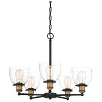 Designers Fountain 92685-VB Bryson 5 Light 24 inch Vintage Bronze Chandelier Ceiling Light