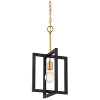 Designers Fountain 92830-AWB Xander 1 Light 11 inch Aged Warm Brass Mini Pendant Ceiling Light