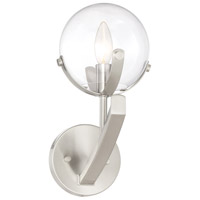 Designers Fountain 93801-SP Spyglass 1 Light 6 inch Satin Platinum Wall Sconce Wall Light