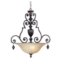 Designers Fountain Savannah 3 Light Pendant in Sierra 94231-SE