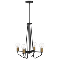 Ravella 4 Light 20 inch Black Chandelier Ceiling Light