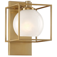 Designers Fountain 94501-BG Cowen 1 Light 7 inch Brushed Gold Wall Sconce Wall Light