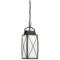 Designers Fountain 94694-BK Fairlington 1 Light 8 inch Black Hanging Lantern Ceiling Light