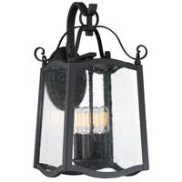 Designers Fountain 94792-BK Glenwood 4 Light 19 inch Black Outdoor Wall Lantern