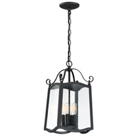 Designers Fountain 94794-BK Glenwood 4 Light 9 inch Black Outdoor Hanging Lantern