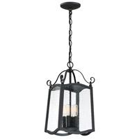 Designers Fountain 94794-BK Glenwood 4 Light 9 inch Black Outdoor Hanging Lantern