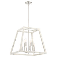 Designers Fountain 94958-CWW Rhode 8 Light 20 inch Coastal Weathered White Foyer Ceiling Light