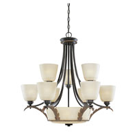 Designers Fountain Ambrosia 11 Light Chandelier in Riviera 95580-RIV photo thumbnail