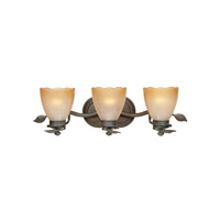 Designers Fountain Timberline 3 Light Bath Bar in Old Bronze 95603-OB