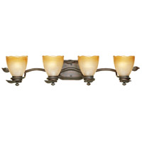 Designers Fountain 95604-OB Timberline 4 Light 34 inch Old Bronze Bath Bar Wall Light photo thumbnail