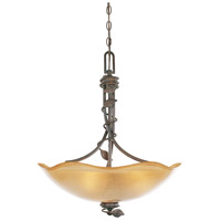 Designers Fountain Timberline 3 Light Pendant in Old Bronze 95631-OB
