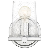 Designers Fountain 95801-CH Matteson 1 Light 6 inch Chrome Wall Sconce Wall Light