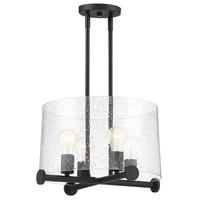 Designers Fountain 95833-MB Matteson 4 Light 16 inch Matte Black Pendant Ceiling Light