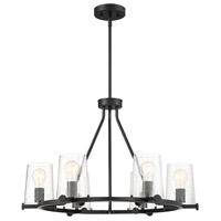 Designers Fountain 95886-MB Matteson 6 Light 28 inch Matte Black Chandelier Ceiling Light