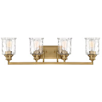 Designers Fountain 96304-BG Drake 4 Light 32 inch Brushed Gold Bath / Vanity Light Wall Light