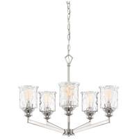 Designers Fountain 96385-PN Drake 5 Light 25 inch Polished Nickel Chandelier Ceiling Light