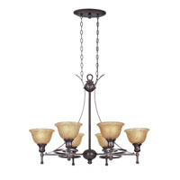 Designers Fountain Torrance 6 Light Island Pendant in Tuscana 96439-TU