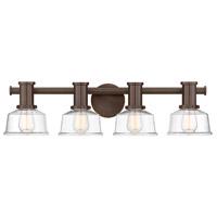 Designers Fountain 96504-SCB Carson 4 Light 29 inch Satin Copper Bronze Wall Sconce Wall Light