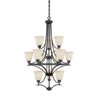 Designers Fountain Montego 12 Light Chandelier in Oil Rubbed Bronze 969812-ORB photo thumbnail