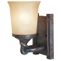 Designers Fountain Austin 1 Light Bath Vanity in Weathered Saddle 97301-WSD