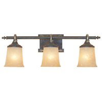 Designers Fountain Austin 3 Light Bath Bar in Weathered Saddle 97303-WSD