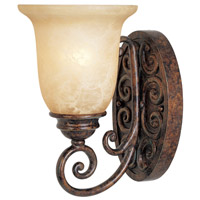Designers Fountain Amherst 1 Light Bath Vanity in Burnt Umber 97501-BU