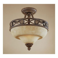 Designers Fountain Carlisle 2 Light Semi-Flush in Venetian Bronze-Gold 97811-VBG