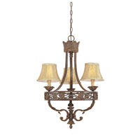 Designers Fountain Carlisle 3 Light Chandelier in Venetian Bronze-Gold 97883-VBG