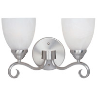 Designers Fountain Stratton 2 Light Bath Bar in Satin Platinum 98002-SP