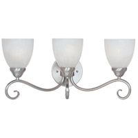 Designers Fountain Stratton 3 Light Bath Vanity in Satin Platinum 98003-SP