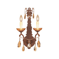 Bollo 2 Light 11 inch Venetian Bronze Wall Sconce Wall Light