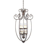 Designers Fountain Belaire 8 Light Hall & Foyer in Aged Umber Bronze 99358-AUB
