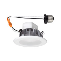 Designers Fountain LED Recessed Downlight with Trim in White 9Y4WHWH-2C40