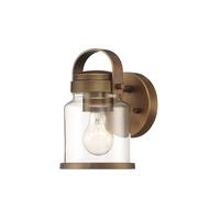 Designers Fountain D200M-1B-OSB Easton 1 Light 7 inch Old Satin Brass Bath Bar Wall Light