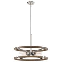 Designers Fountain D206M-22P-PN Hanston 4 Light 23 inch Polished Nickel Pendant Ceiling Light