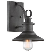 Designers Fountain D207M-8OW-WP Aurora 1 Light 11 inch Weathered Pewter Outdoor Wall Lantern