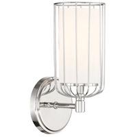 Designers Fountain D217M-1B-PN Avery 1 Light 6 inch Polished Nickel Bath Bar Wall Light