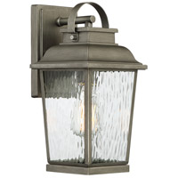 Designers Fountain D220M-7OW-WI Brinley 1 Light 14 inch Weathered Iron Outdoor Wall Lantern