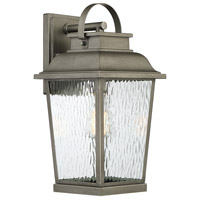 Designers Fountain D220M-9OW-WI Brinley 1 Light 17 inch Weathered Iron Outdoor Wall Lantern