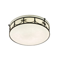 Designers Fountain Round Fluorescent 2 Light Flushmount in Oil Rubbed Bronze ES1246-ORB photo thumbnail
